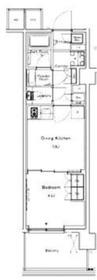 ルフォンプログレ糀谷2階Fの間取り画像