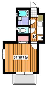 和光市駅 徒歩28分2階Fの間取り画像
