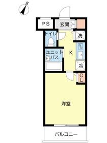 スカイコート文京白山第52階Fの間取り画像