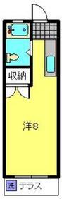 東山田駅 徒歩8分1階Fの間取り画像