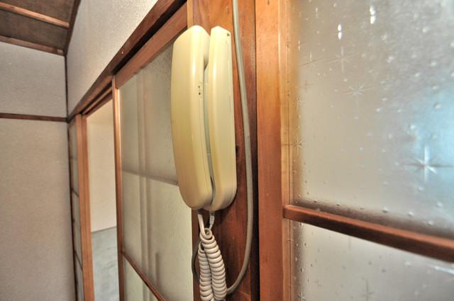 若江本町4-8-40貸家 来客はこちらで確認してから出て下さいね。安全第一
