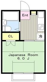 町田駅 徒歩14分2階Fの間取り画像