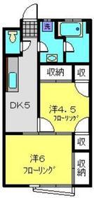 ふじ永谷ビル3階Fの間取り画像