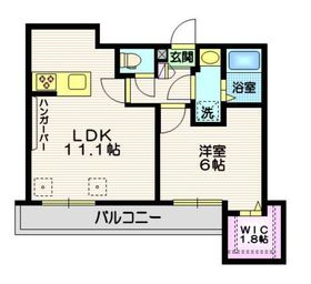 (仮称)中央1丁目メゾン3階Fの間取り画像