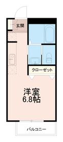 フォルテ矢野口1階Fの間取り画像