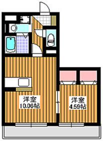 ロワジール3階Fの間取り画像