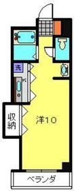 瀬谷駅 徒歩3分2階Fの間取り画像