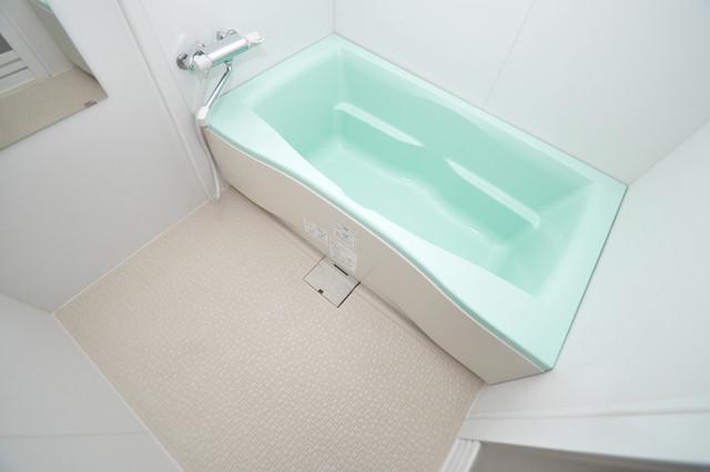 Celeb布施東 広めのお風呂は一日の疲れを癒してくれます。