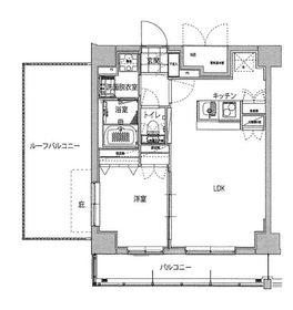 ハーモニーレジデンス品川ウエスト#0028階Fの間取り画像