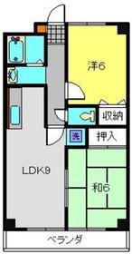 新羽駅 徒歩26分1階Fの間取り画像