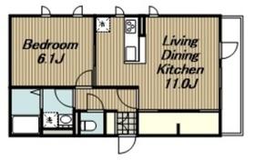セジュール・ナミキ3階Fの間取り画像