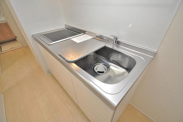 フジパレス高井田西Ⅰ番館 システムキッチンなので広々使えて、お料理もはかどります。
