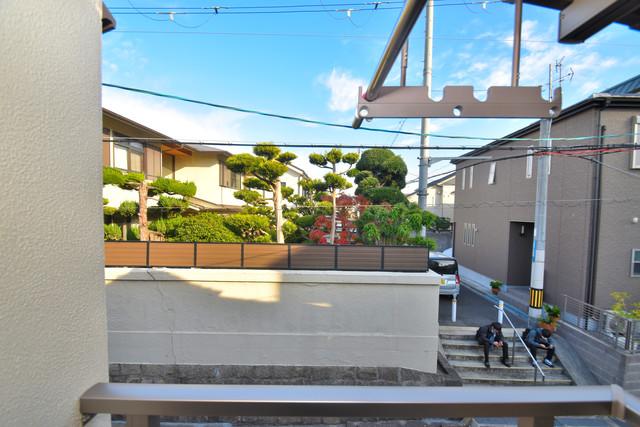 横沼町1-9-12 貸家 この見晴らしが陽当たりのイイお部屋を作ってます。
