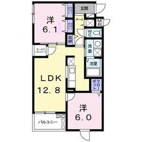川崎駅 バス9分「南加瀬交番前」徒歩2分4階Fの間取り画像