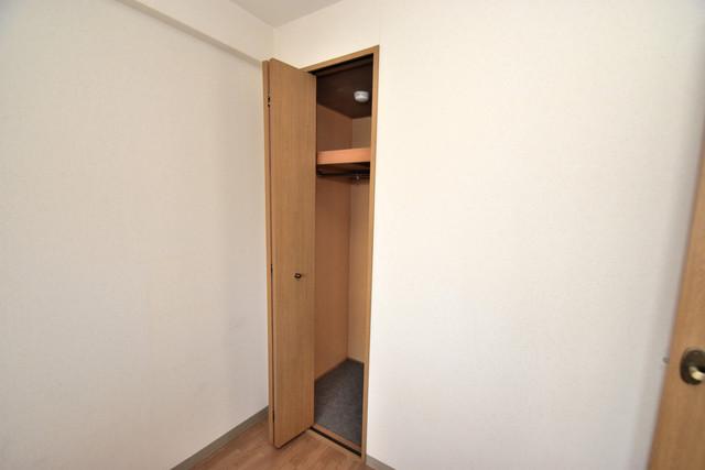 ノースフライト もちろん収納スペースも確保。いたれりつくせりのお部屋です。