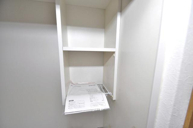 オーナーズマンション菱屋西 キッチン棚も付いていて食器収納も困りませんね。