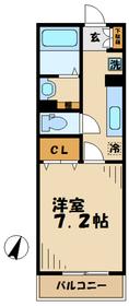 瀬谷駅 徒歩9分1階Fの間取り画像