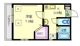 YSコーポ3階Fの間取り画像
