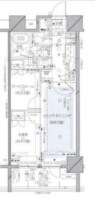 ピアース千代田淡路町4階Fの間取り画像