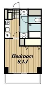 ジェルメコムーネ2階Fの間取り画像