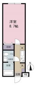 ピアコートTM東伏見弐番館1階Fの間取り画像