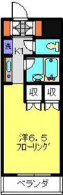 ANNEX日吉の杜1階Fの間取り画像