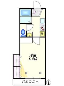 アスト3階Fの間取り画像