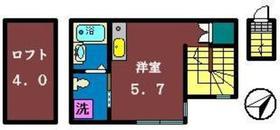 トレーフル2階Fの間取り画像
