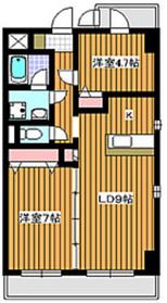 西高島平駅 徒歩5分5階Fの間取り画像