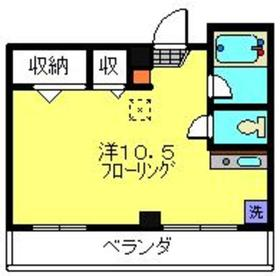 武蔵小杉駅 徒歩14分4階Fの間取り画像