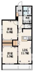 南大沢駅 徒歩25分3階Fの間取り画像