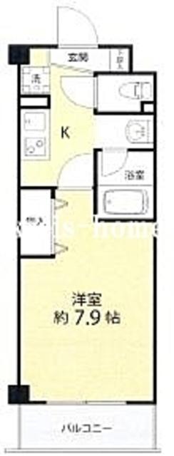 AZ本郷菊坂間取図