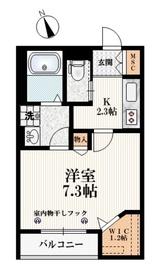 小竹向原駅 徒歩2分2階Fの間取り画像