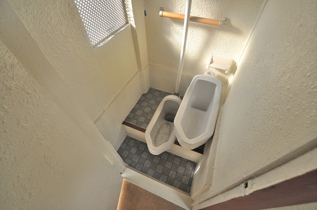 長栄寺第5コープ 和式トイレです。