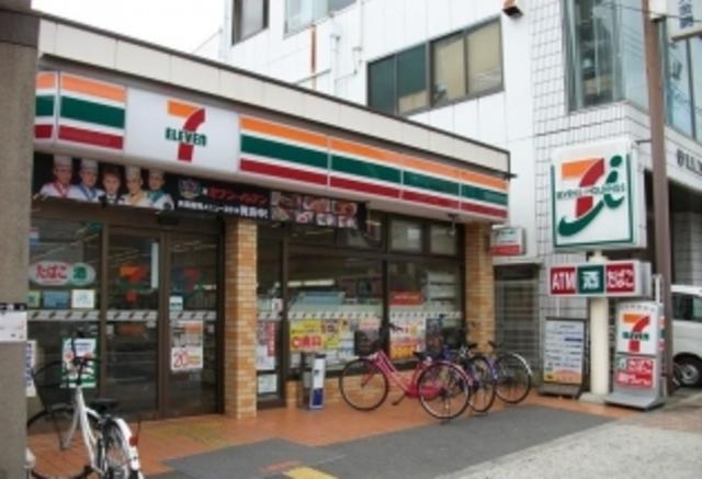 アクロス今里アパートメント セブンイレブン大阪中川3丁目店