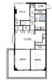 ロイヤルガーデンワコーレ上永谷4階Fの間取り画像
