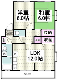 津久井浜駅 徒歩4分2階Fの間取り画像
