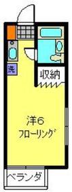武蔵新城駅 徒歩7分2階Fの間取り画像