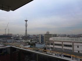 建物が隣接していないので、晴れている時は、良い眺望が望めます。