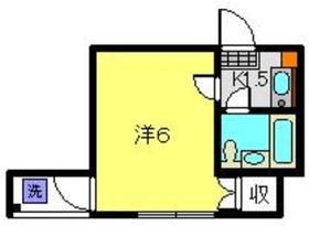 武蔵小杉駅 徒歩7分3階Fの間取り画像