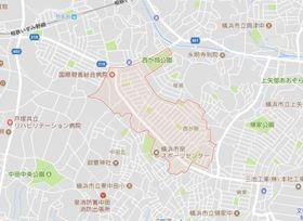 弥生台駅 徒歩16分案内図