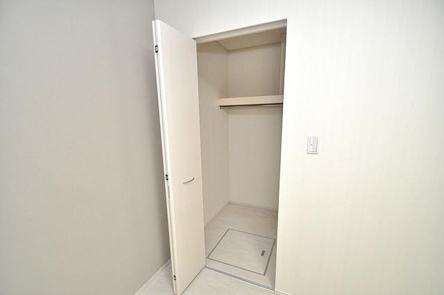 メゾンサンヴァレー もちろん収納スペースも確保。おかげでお部屋の中がスッキリ。