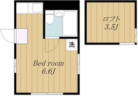 鶴川駅 バス19分「浅間下」徒歩4分1階Fの間取り画像