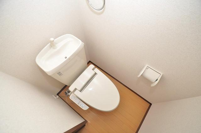 ベルリード加美北A棟 清潔感のある爽やかなトイレ。誰もがリラックスできる空間です。