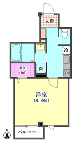 (仮)ラ ルーナ サンアイ 203号室