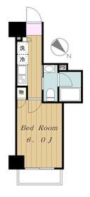 レーヴ町田V.A12階Fの間取り画像