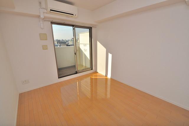 CASSIA高井田SouthCourt ゆとりのあるベッドルームで快適な睡眠をとってくださいね。