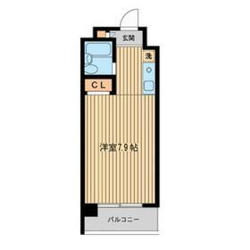 エルムノースヒル1階Fの間取り画像