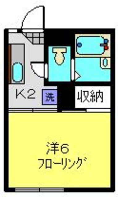 和田町駅 徒歩8分間取図