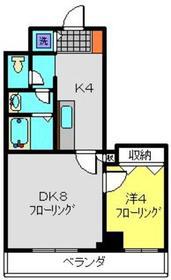 SEエトワール3階Fの間取り画像